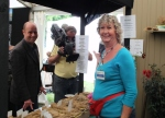 The other side of the camera, Jo Swift and Janet Wright in the Seed Shop