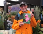 NCH Allan Pullen with his monograph on Kalmia