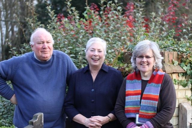 Triumvirate - David Stevens, Sandra and Clare