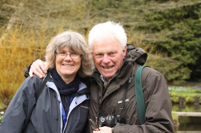 Gill with Roy Lancaster