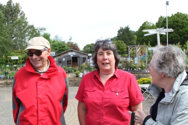 Alan Pullen, Lyndsay Pink, Anne Folkes