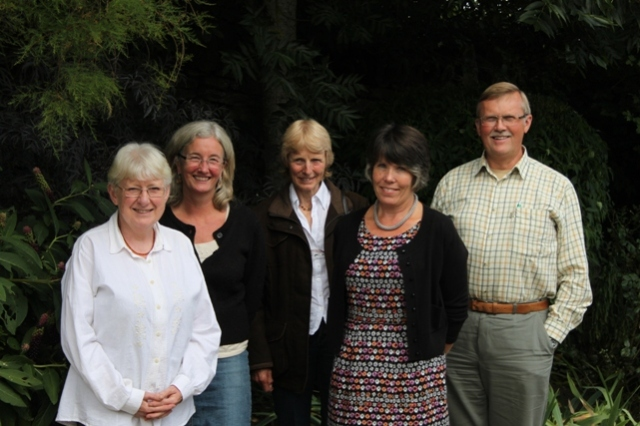 Edna Squires, Rosie Yeomans, Sally Wills, Beverley Sugden, Martin Young