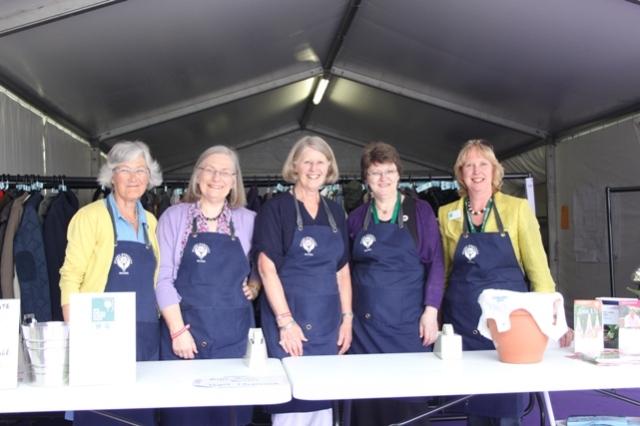 Libby Brooks, Christine Abercrombie, Rosie Osborne, Hilary Drain, Sarah Q
