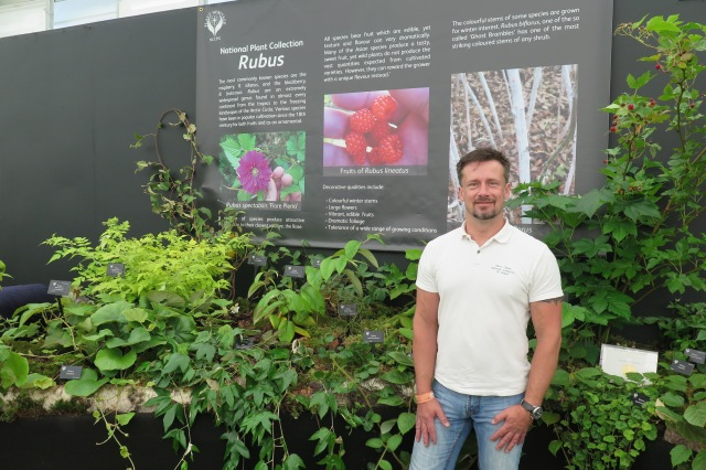 Barry Clarke and his National Plant Collection of Rubus