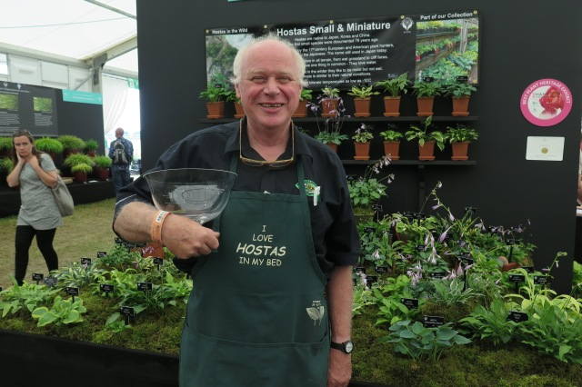 Jonathan Hogarth and his National Collection of Small and Miniature Hosta