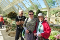 Cambridge members at Harlow Carr