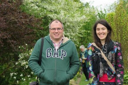 Kristopher Harper and Sophie Leguil at Stillingfleet